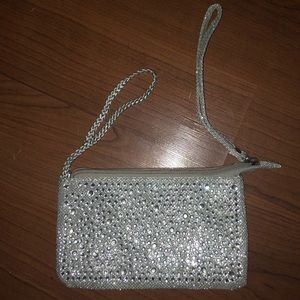 Claire's Bejeweled Clutch